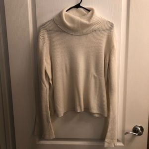 Madewell Cropped Turtleneck Sweater